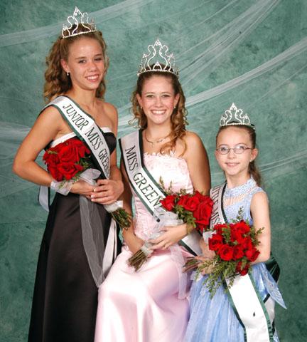 miss junior miss and little miss greenbelt 2005 home contestants